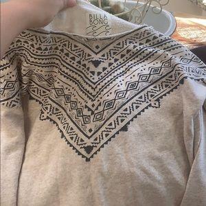 Long sleeve sweatshirt shirt